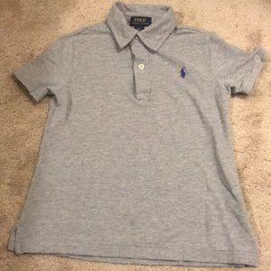 Polo by Ralph Lauren Gray Knit Polo